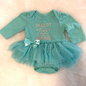 Children's Place Onesie with Tutu Size 0-3months